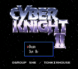Screenshot Thumbnail / Media File 1 for Cyber Knight II - Chikyuu Teikoku no Yabou (Japan) [En by Aeon Genesis v1.0] (~Cyber Knight II - Ambitions of the Terran Empire)